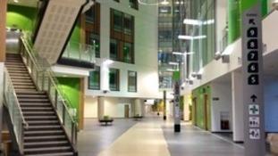 Southmead Hospital interior