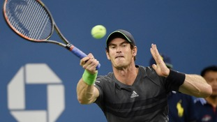 Andy Murray has crashed out of the US Open.