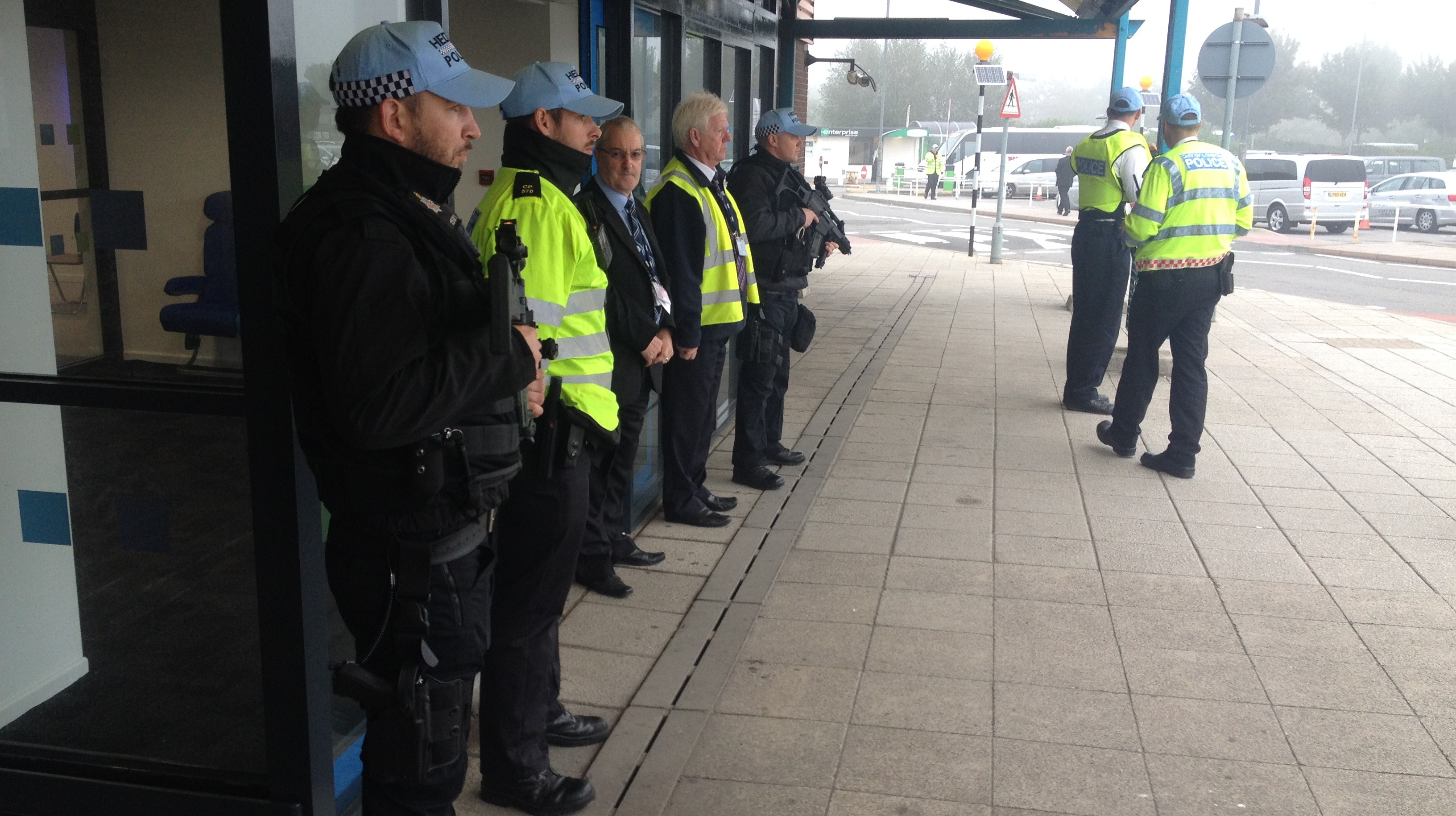 security at bristol airport as nato heads of state arrive west security at bristol airport as nato heads of state arrive west country itv news