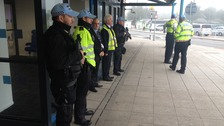 Security at Bristol Airport as NATO heads of state arrive