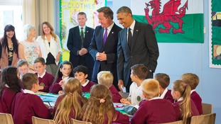 Obama in Newport
