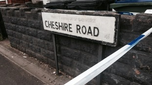 Officers were called to Cheshire Road just before midnight