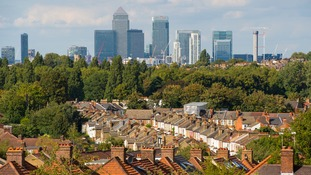 The total value of London's homes are worth over a third of the UK total.