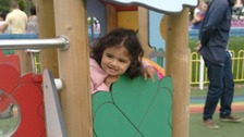 Tiya Chauhan died the day after she was found unconscious at the nursery.