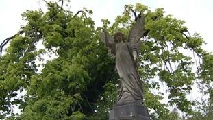 Grave at Arnos Vale Cemetery