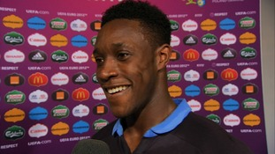 England striker Danny Welbeck.