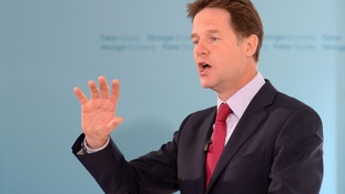 Nick Clegg says countries in the Middle East must lead the response to IS.