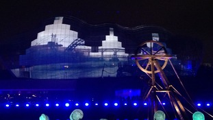 A floating colliery was one of the attractions at the GNR Million Opening Ceremony.