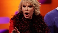 Joan Rivers was loved by audiences on both sides of the Atlantic.