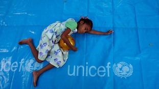 The report by Unicef found the victims were too young or vulnerable to tell anyone.