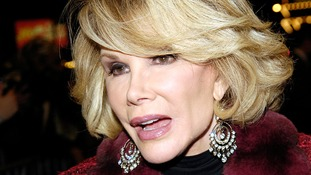 Stars pay heartfelt tributes to comedian Joan Rivers