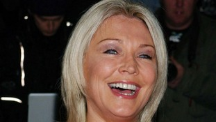 English actress Amanda Redman receives an MBE.