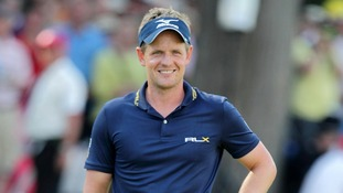 English golfer and world number one Luke Donald has been honoured with a Member of the British Empire (MBE).