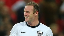 Wayne Rooney, England captain.