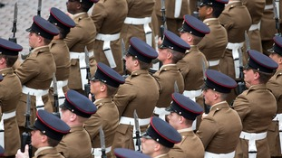 British soldiers will make up a quarter of the special Nato force