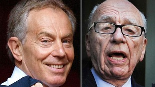 "Rupert Murdoch was part of an ""over-crude"" attempt to push Tony Blair into action in Iraq, Alastair Campbell has claimed."