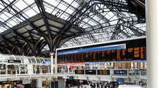In a 17-month period, 239 runaway children were found at Liverpool Street station.