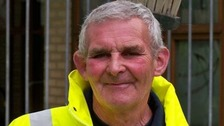Anthony Cleland has been granted the reward for services to his community after 25 years cleaning the streets of Lambeth.