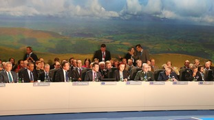 Nato leaders given a shopping bag of the finest Welsh goods