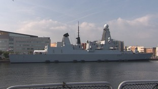 HMS Duncan Cardiff Bay