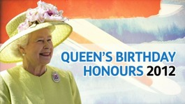 Queen&#x27;s Birthday Honours in Derbyshire