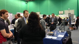 Careers event at Catterick Garrison