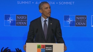 Obama Nato summit speech