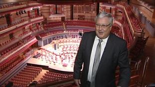 Symphony Hall director Andrew Jowett awarded an OBE