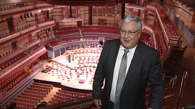 Symphony Hall director Andrew Jowett awarded an OBE