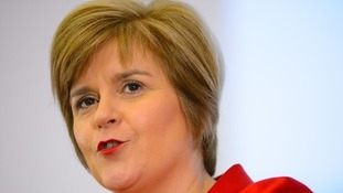 Deputy Scottish First Minister Nicola Sturgeon.
