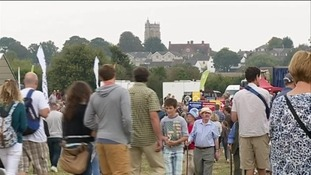 Crowds at Dorset County Show