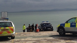 Police activity at Rhos on Sea