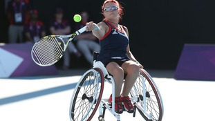 Great Britain's Jordanne Whiley