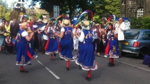 Out with the old and in with the new at the rushbearing festival