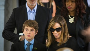 Melissa Rivers and her son Cooper