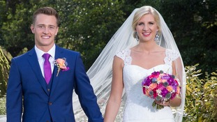 Olympian Rebecca Adlington marries 'the love of her life'