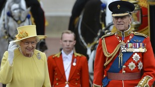 In pictures: Trooping the Colour