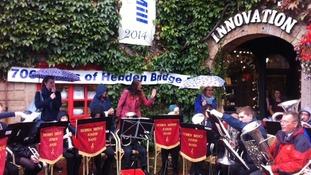 Hebden Bridge band entertain the crowds