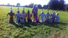 Norland scarecrow festival is in its 15th year