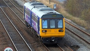 A Northern Rail train.