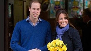 The Duchess was admitted to hospital early in her last pregnancy when she was carrying Prince George.
