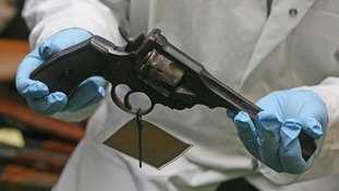 A gun handed over during a weapons amnesty.