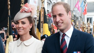 William and Kate.