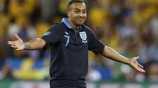 England forward Theo Walcott.