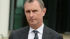 Nigel Evans pictured after being cleared of sex offences in earlier this year.
