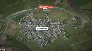 £10m to repair new A38 bypass near Dobwalls