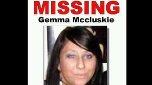 One of the posters put up around east London after Gemma McCluskie went missing