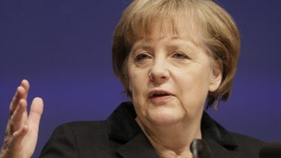 Angela Merkel warns Greece about bailout terms ahead of the country's elections