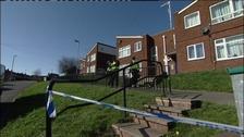 Wakefield stabbing scene