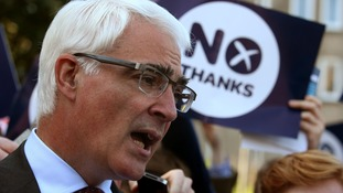 Better Together leader Alistair Darling.